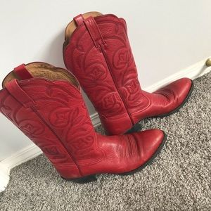 Lammle's Ariat Leather cowboy boots